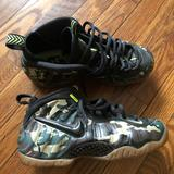 Nike Shoes   Nike Foamposite Army Camo   Color: Black   Size: 8.5