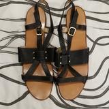 Gucci Shoes   Gucci Sandals Flat Shoes Black Women'S 11 B   Color: Black   Size: Us 11