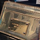 Michael Kors Bags   Michael Kors Card Holder Authentic Michael Kors   Color: Gold   Size: Os