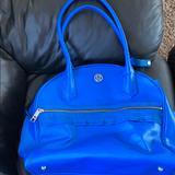 Lululemon Athletica Bags | Lululemon Travelgym Bag Blue Sweat Once A Day Bag | Color: Blue | Size: Os