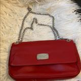 Michael Kors Bags   Michael Kors Red Chain Strap Leather Bag Purse   Color: Red   Size: Os