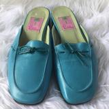Lilly Pulitzer Shoes   Lilly Pulitzer Slip On Sandals Sky Blue   Color: Blue   Size: 6.5