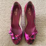 Kate Spade Shoes | Kate Spade Rose Pumps 7.5 | Color: Pink/Red | Size: 7.5