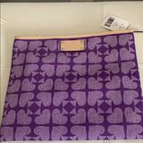 Kate Spade Bags   Kate Spade Clutch Or Tablet Case   Color: Purple   Size: 11.5 By 9.5