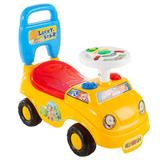 Lil' Rider Ride-On Baby Walking Activity Car, Yellow