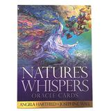 Creative Tarot Cards Nature's Whispers Oracle Cards Board Games Tarot Cards for Adult Children Party Supplies
