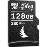 Angelbird 128GB AV Pro UHS-II microSDXC Memory Card with SD Adapter AVP128MSDV60