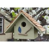 Bird Houses by Mark Chateau Wren Bird House, Sage