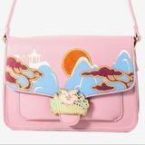 Disney Bags | Mulan Lotus Crossbody Disney Danielle Nicole | Color: Pink | Size: Os