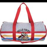 Disney Bags   Mickey And Friends Hello Folks Duffle Bag Nwot   Color: Red   Size: Os