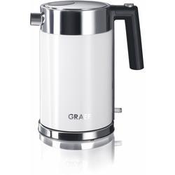 Graef Wasserkocher WK 61, 1,5 l, 2015 W weiß Haushaltsgeräte