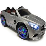 Americas Toys Project Electric Ride Cars & Truck Plastic in Blue, Size 15.0 H x 25.0 W x 48.0 D in | Wayfair mercedes-sl65-blue