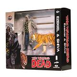 Skybound Entertainment The Walking Dead Ezekiel & Shiva All Out War Action Figures
