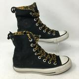 Converse Shoes | Converse All Star Womens Ankle Sneakers Leapard Pr | Color: Black | Size: 4