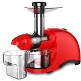 CAYNEL Greenis Horizontal Slow Masticating & Cold Press Juicer in Red, Size 19.4 H x 15.3 W x 8.5 D in | Wayfair SJ44807