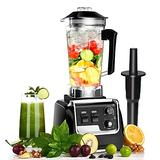 Professional Blender for Kitchen, Countertop Smoothie Blender Machine with Variable Speed 2200 Watt with Built-in Timer for Frozen Fruit, Crushing Ice, Veggies, Shakes and Smoothie 2L Tritan Container and 30000 RPM for Home and Commercial