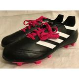 Adidas Shoes | Adidas Performance Kids' Ground Soccer Cleats | Color: Black/Pink | Size: 4.5bb