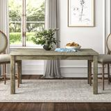 """Kelly Clarkson Home Connor 38"""" Dining Table Wood in Brown/Gray, Size 30.0 H x 64.0 W x 38.0 D in   Wayfair 67473AE1B02B4325A7357565E1C2DD4E"""
