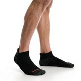 Merrell Men's Repreve� Low Cut Tab Sock 3 Pack, Size: L/XL, Black