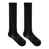 Merrell Graduated Compression Hiker Over the Calf Sock, Size: M/L, Black