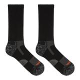 Merrell Lightweight Hiker Crew Sock, Size: L/XL, Black