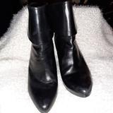 Ralph Lauren Shoes | Ralph Lauren 4 Inch Heel Black Boot | Color: Black | Size: 8.5 B
