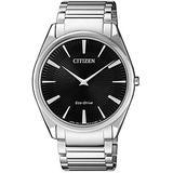 Citizen AR3071-87E Men's Eco Drive Black Dial Steel Bracelet Watch