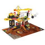 Dickie Toys - Construction Playset With 4 Die-Cast Cars