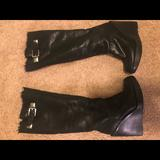 Michael Kors Shoes | Michael Kors Womens Platform Boots Size 7.5 | Color: Black | Size: 7.5