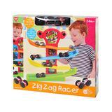 Playgo Toy Building Sets - Zig Zag Racer Car Track Set