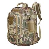 Paladins Backpack Large Work Backpack Military Camo Backpack Molle System Waterproof for Men (OCP)