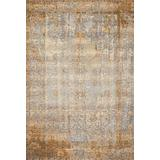 """Loloi Mika Collection Indoor or Outdoor Area Rug, 5'-3"""" x 7'-8"""", Blue/Multi"""