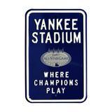 """New York Yankees 2008 MLB All-Star Game Steel Parking Street Sign"""