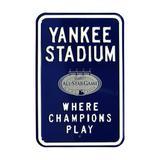 New York Yankees 2008 MLB All-Star Game Steel Parking Street Sign