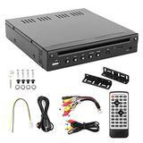 KIMISS 12V Car DVD Player,Half‑Din HD DVD Player HIDM USB Port TF SD Slot Remote Control IR Multimedia for Bus Motorhome