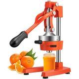 Vivohome Citrus Juicer in Orange, Size 28.0 H x 6.7 W x 15.5 D in | Wayfair X0029WF7XD