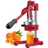 Vivohome Citrus Juicer in Red, Size 28.0 H x 6.7 W x 15.5 D in | Wayfair X002H43PHD