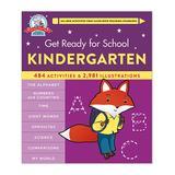Hachette Book Group Educational Workbooks - Get Ready for School: Kindergarten Spiral-Bound Book