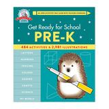 Hachette Book Group Educational Workbooks - Get Ready for School: Pre-K Spiral-Bound Book