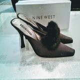 Nine West Shoes | 9 Nine West Black Shoes Mules Size 8.5 L | Color: Black | Size: 8.5