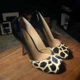 Nine West Shoes | Boutique 9 Peep Toe Heels | Color: Black | Size: 8.5