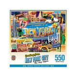 Masterpieces Puzzles - Greetings From New York City 550-Piece Puzzle