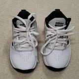 Adidas Shoes | Kids Adidas High Top Sneakers | Color: Black/White | Size: 11b