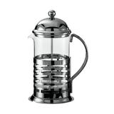 Service Ideas French Press Coffee Maker in Black/Gray, Size 7.75 H x 4.5 W x 3.5 D in | Wayfair T277B