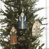 Papa Noel Ornaments - Ballard Designs