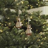 Squirrel & Fox Ornaments - Ballard Designs