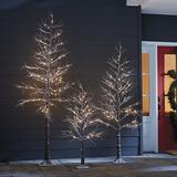 Outdoor LED Snowy Tree 8' - Ballard Designs