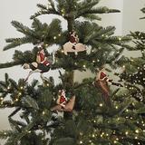 Santa and Friends Ornaments - Ballard Designs