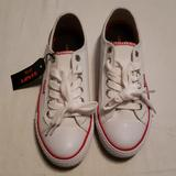Levi's Shoes   Levi'S Women'S Canvas Sneakers   Color: White   Size: 5.5