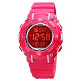 Kids Digital Sports Watch LED Screen Military Watches, 50M Waterproof Boys Army Watch Red